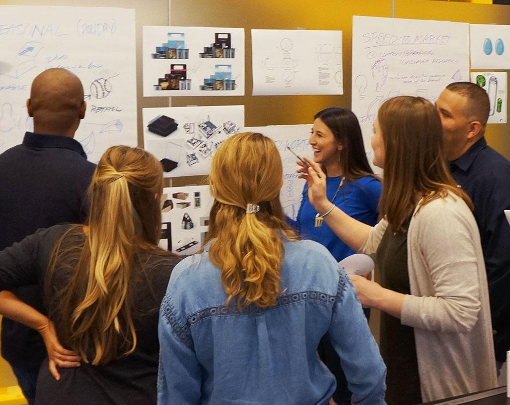werkshop design group brainstorm package design