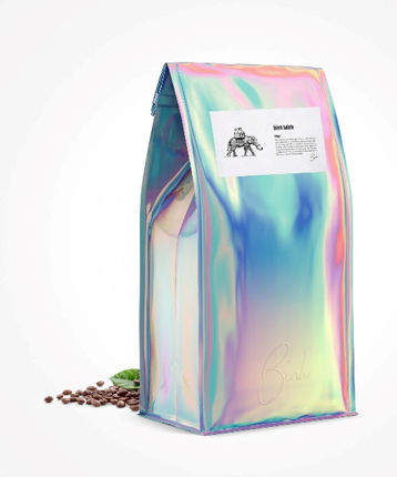 binh minh iridescent coffee bag