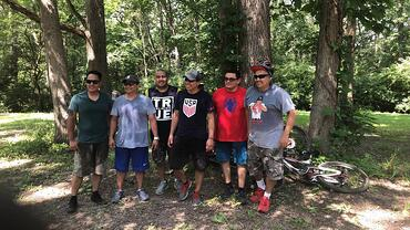 cw team bike ride