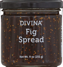 divina fig spread is minimalist packaging