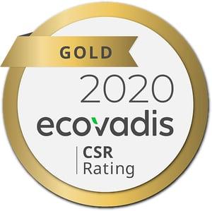 ecovadis gold 2020
